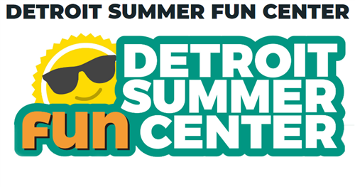 Detroit summer fun center logo