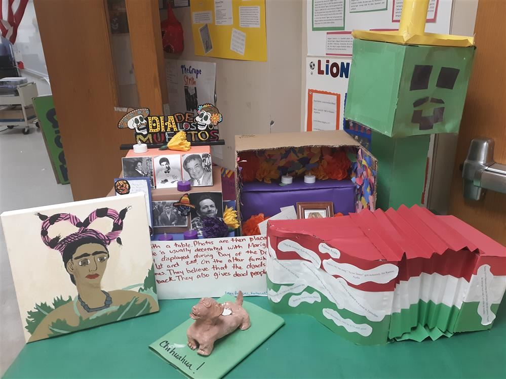 Hispanic heritage month projects