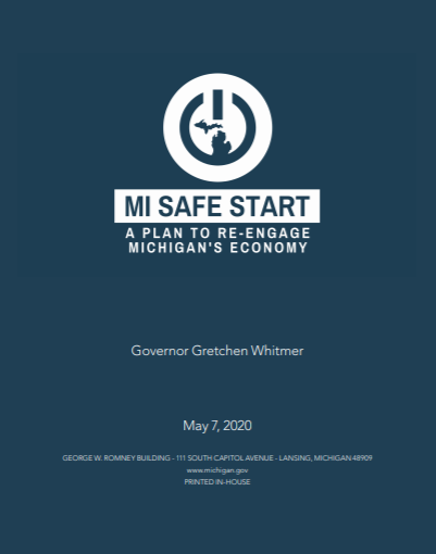 Michigan Safe Start Plan Photo