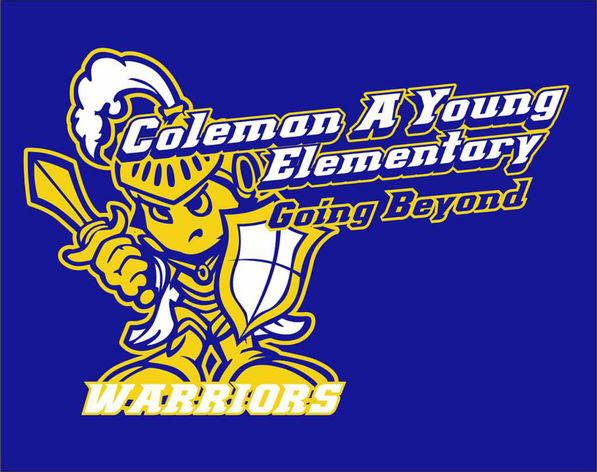 Coleman A Young Elementary Logo