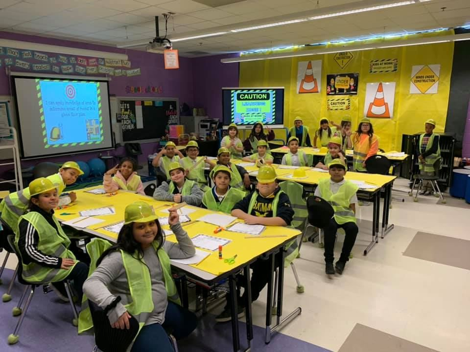 a classroom lesson about construction