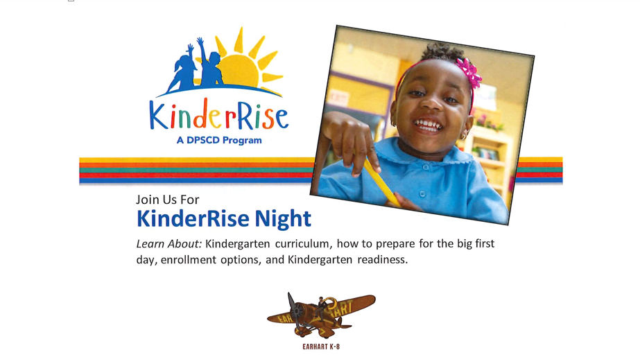 join us for KinderRise night event