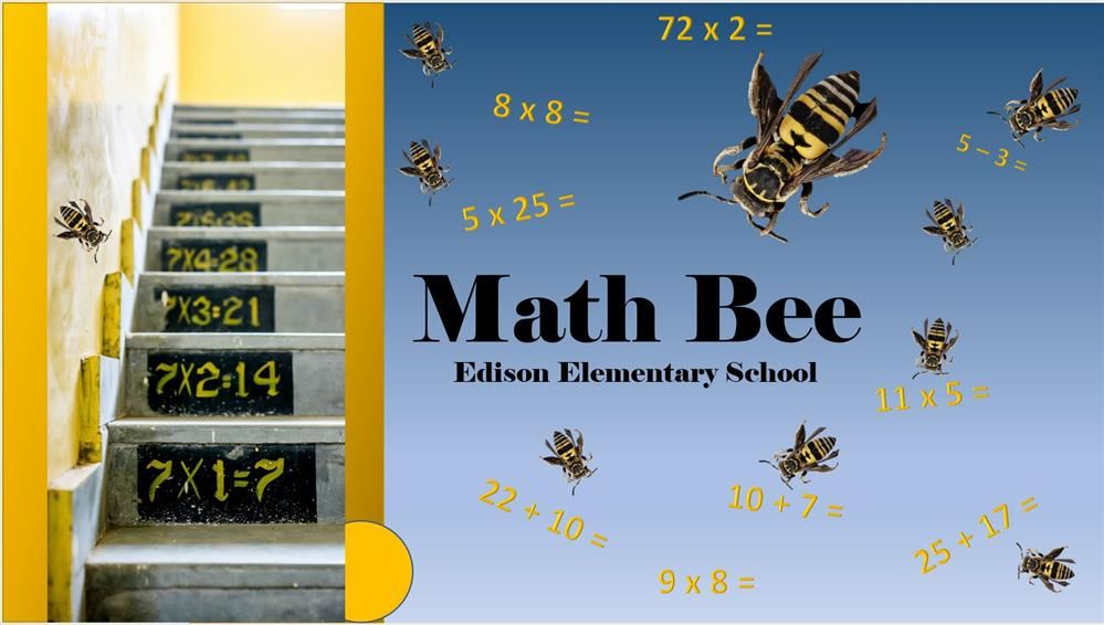 math bee slide