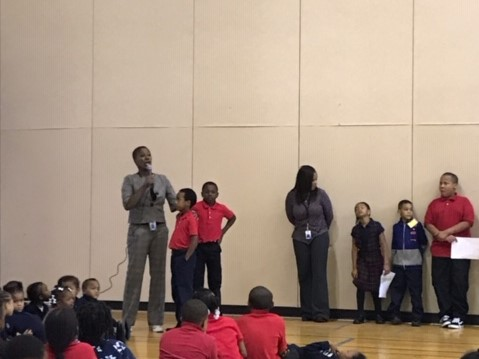 Assembly at expect respect assembly