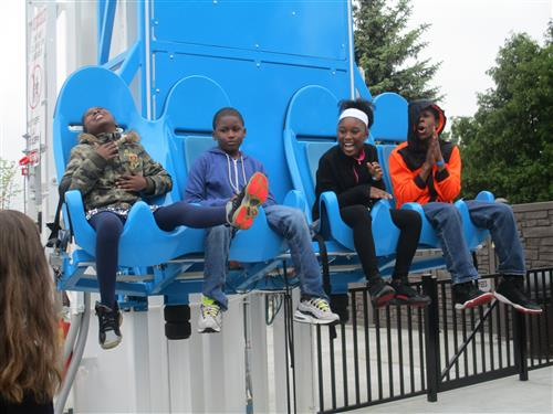 Students having fun at C.J. Barrymore's!!