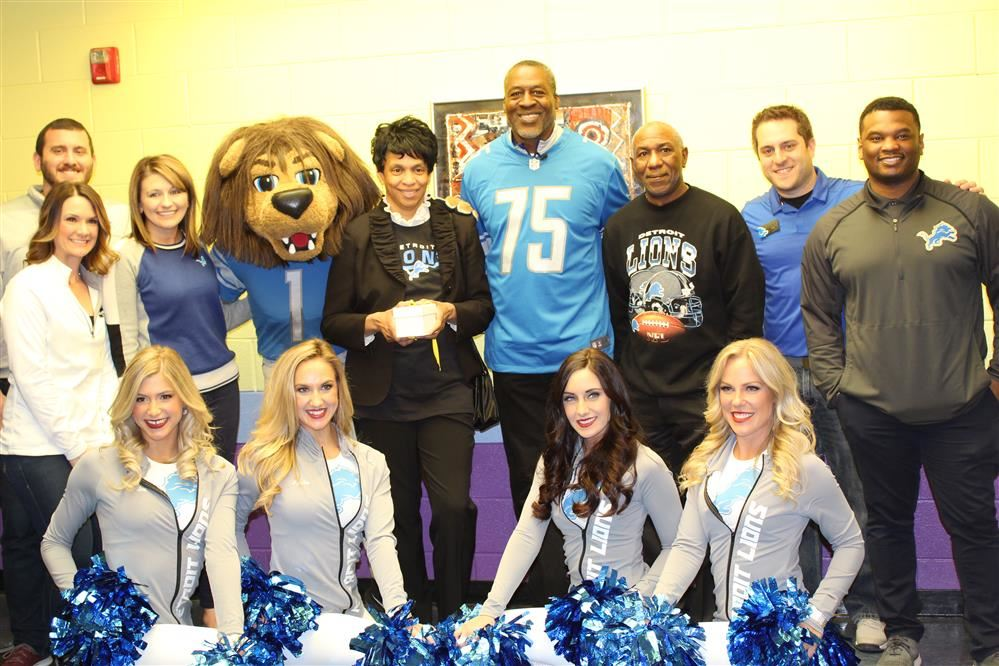 Detroit Lions and Kroger