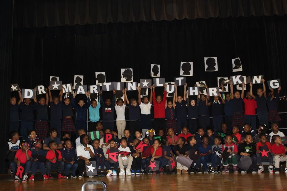 Students celebrates black history month