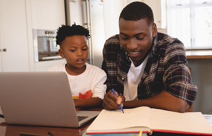 Online Learning at Frederick Douglass Academy for Young Men