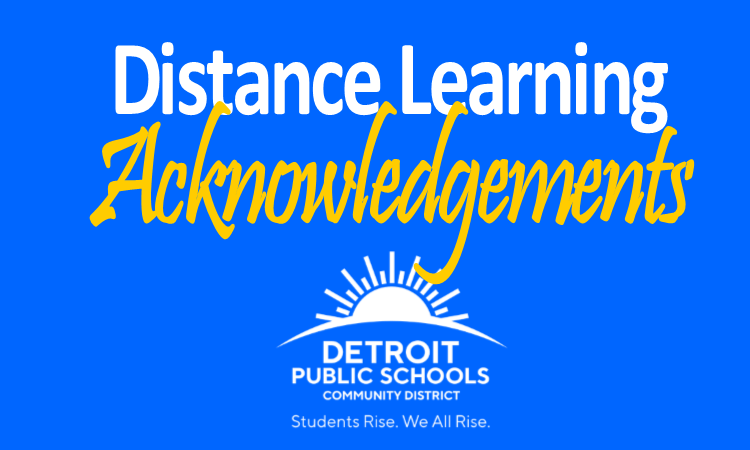 A huge THANK YOU to all of the educators, staff, and partners who made the District's Distance Lear
