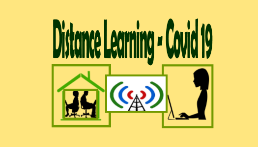 Distance Learning-Covid 19