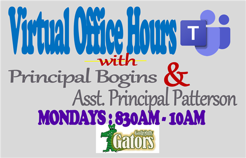 Virtual Office Hours are available