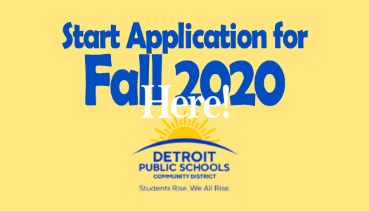 Accepting Applications for Fall 2020