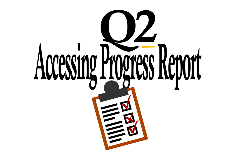Quarter 2 Progress Report Access