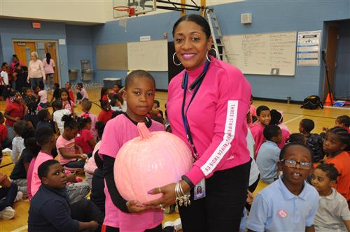 Pink day Pink Pumpkin Raffle winner