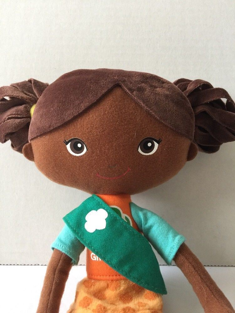 Picture of African American Girl Scouts doll