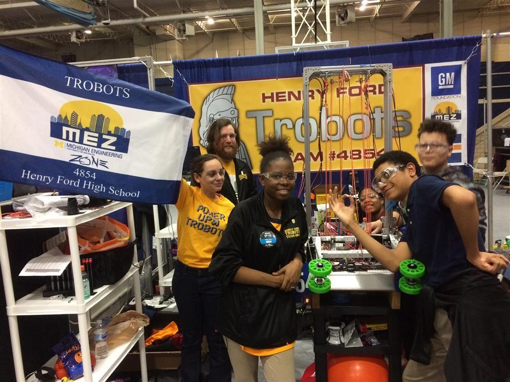 Henry Ford Robotics Team Competition
