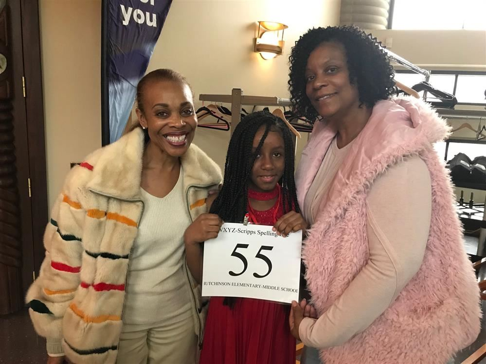Hutchinson 5th grade Honor Student competes in the Scripps Regional Spelling Bee