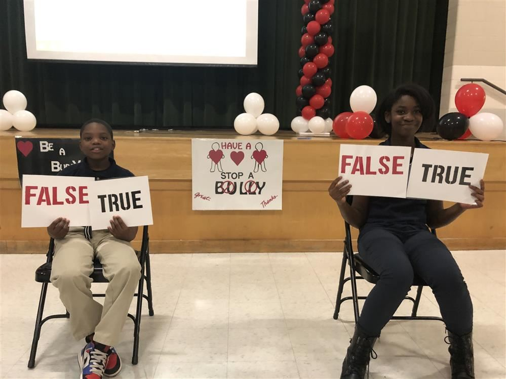 "Anti-Bullying Rally themed ""Be A Buddy Not A Bully"""