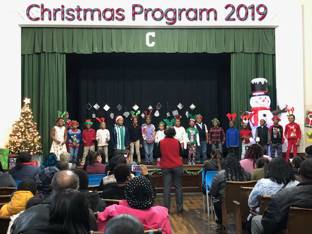 Christmas program 2019 at Clark Preparatory