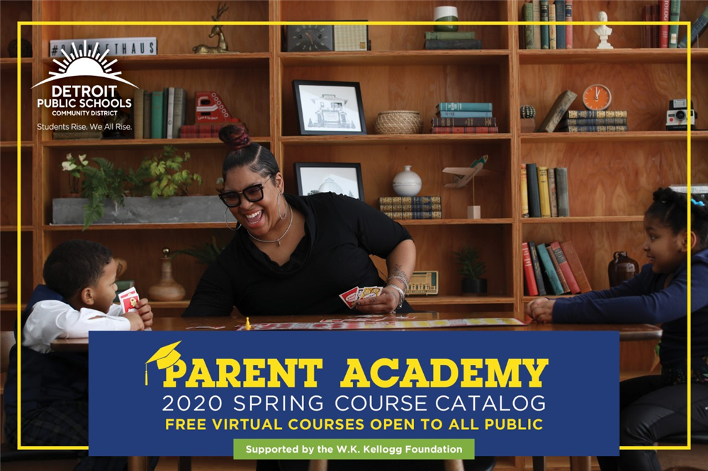 Parent Academy Spring Catalog - Coding, Finances, Distance Learning and More